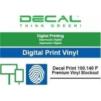 Decal print 100.140 p vinyl bl