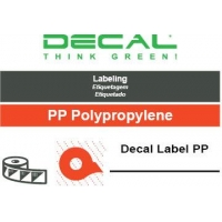 Decal label pp