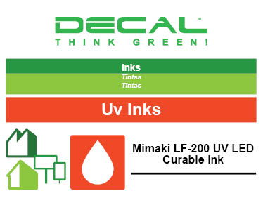 Mimaki LF-200 UV LED Curable Ink