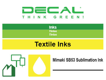 Mimaki SB53 Sublimation Ink