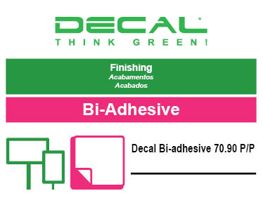 Decal Bi-adhesive 70.90 P/P